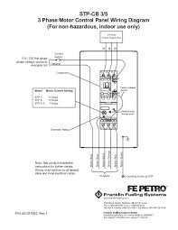 stp cb 3 5 3 phase motor control panel wiring diagram franklin electrical motor control panel wiring diagram stp cb 3 5 3 phase motor control panel wiring diagram franklin