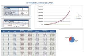 Retirement Savings Calculator Retirement Calculator
