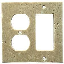 3 toggle 1 duplex wall plate light walnut switch plate cover rocker duplex 3 toggle 1