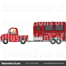 Pickup Truck Clipart #1462727 - Illustration by djart