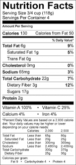 Recipe Labels Recipe Nutrition Labels Food Hero
