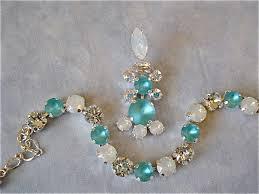 tiffany blue swarovski crystal chandelier earrings images of