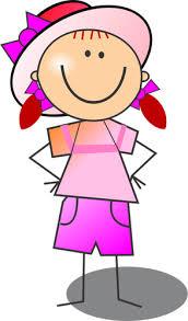 Výsledek obrázku pro růžové oblečení kreslené