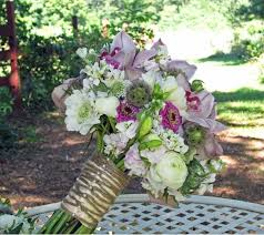 scabiosa wedding flowers blue lavenders purple pinks and white scabiosa pods