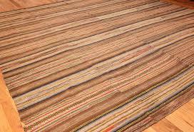 square earth tone antique american rag rug 48674 side nazmiyal