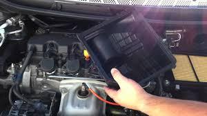 honda civic engine air filter 8th gen 2007 Civic Si Fuel Filter Location Replace Fuel Filter Honda HS35