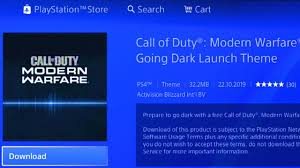 Themes Downloading Free How To Download Free Modern Warfare Ps4 Theme Call Of Duty Modern Warfare Ps4 Theme For Free