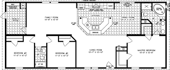 manufactured home floor plan the imperial model imp 46411b 3 bedrooms 2