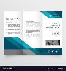 Business Trifold Brochure Leaflet Design In Size
