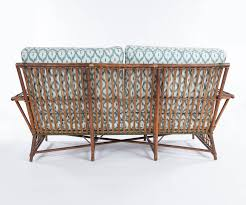 antique arts and crafts wicker settee and loveseat sofa also antique loveseat plus decorative white and