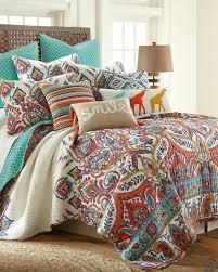 quilt sets luxury quilt set bedding queen size in colorful paisley colorful colored in squre