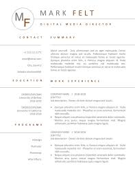 Resume Template For Word Cv Design Modern Professional Classic