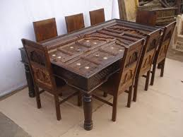 indian dining room furniture. Delighful Dining Antique Reproduction Dining Table U0026 Chairs3 Inside Indian Room Furniture A