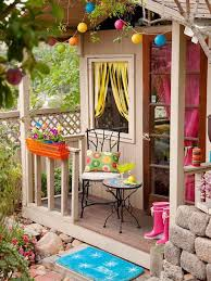playhouse furniture ideas. 20 cheerful outdoor youngsters playhouses httpwwwdecorazillacom playhouse furniture ideas k