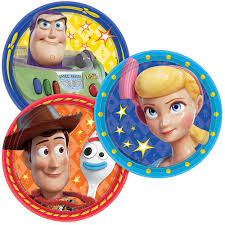 Toy Story 4 Dessert Plates 8ct Party City