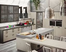 snaidero loft industrial style modern kitchen