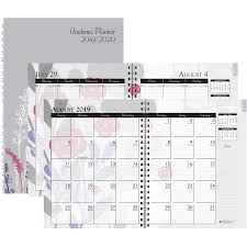 planners weekly monthly house of doolittle academic wild flower weekly monthly planner academic yes monthly weekly 1 year august till july 1 week 1 month double