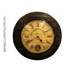 18 inch wall clock colonial solid wood furniture la crosse technology atomic outdoor