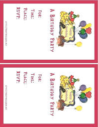 Free Invitations To Print Free Printable Cheetah Birthday