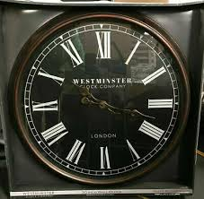 westminster clock company oversized 30