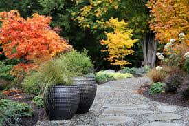 Small Picture Pottery in the Garden Contemporary Landscape Seattle by