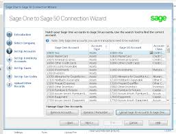 How To Have A Matching Chart Of Accounts In Sage 50 And Sage