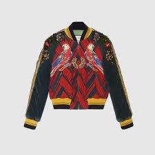 gucci embroidered corduroy er jacket