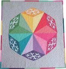 3-D Quilt Blocks: Quilting Optical Illusions & Snow Kisses Quilt pattern Adamdwight.com