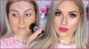 and affordable makeup glam trying new makeup shaaanxo