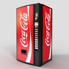 Original Coke Vending Machine Unique Soda Machine Obj