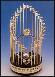 Image result for world series trophy