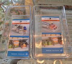 clear storage bins for shelves or refrigerator