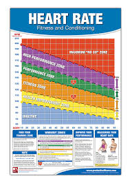 Rate Chart Fitness Heart Rate ChartPoster Fitness Heart Rate Poster Training 1