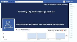 timeline template facebook cover templates free