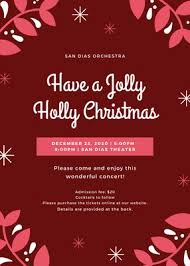 Christmas Backgrounds For Flyers Customize 82 Christmas Flyers Templates Online Canva
