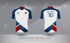 Football Shirt Designs Soccer T Shirt Design Uniform Set Of Soccer Kit Football Jersey