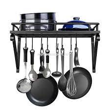 sorbus pots and pan rack utensils pans