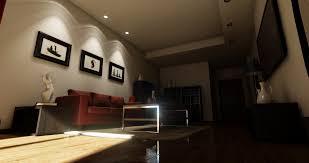 interior spot lighting. Without Ambient Spot Lights Interior Lighting