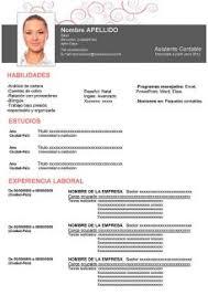 Formatos De Curriculum Vitae En Word Gratis Formato Curriculum Profesional Word Magdalene Project Org