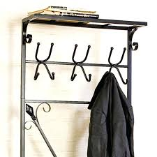 short hall tree bench and coat rack iron with secret guidelines before three image of