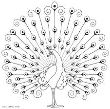 Coloring Pages For Adults Peacock Colouring Page Adult Book