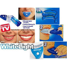 How To Use White Light Tooth Whitening System Teeth Whitening Kit Plus Whitening Gel