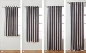 not all windows and curtain lengths were made for each other use the measurements and tips below as a guide to help you find the perfect fit and consider
