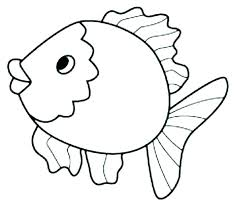 printable fish coloring pages plus printable fish coloring pages free printable rainbow fish coloring printable fish
