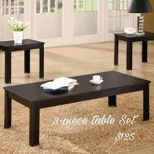 3 piece table set. 3 Piece Table Set F
