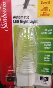 Sunbeam Night Light 2x Sunbeam Led Night Light Color Changing On Off