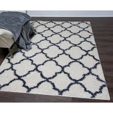 home dynamix synergy white blue 8 ft x 10 ft indoor area rug