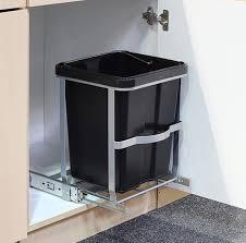 Perfect Teleskop Mülleimer Abfalleimer Einbaumülleimer Küchen Abfall Eimer 14 Liter