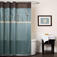 Bathroom Color Schemes Can Be Presented By Brown And Teal Shades