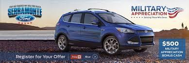 Ford Military Appreciation Bonus Cash